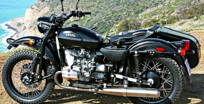 Мотоцикл с прицепом