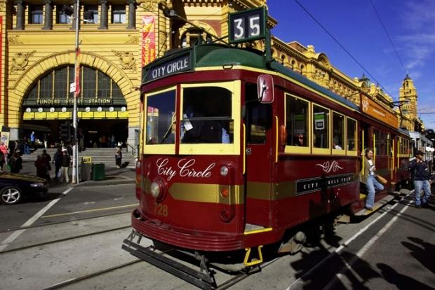 Мельбурнский трамвай