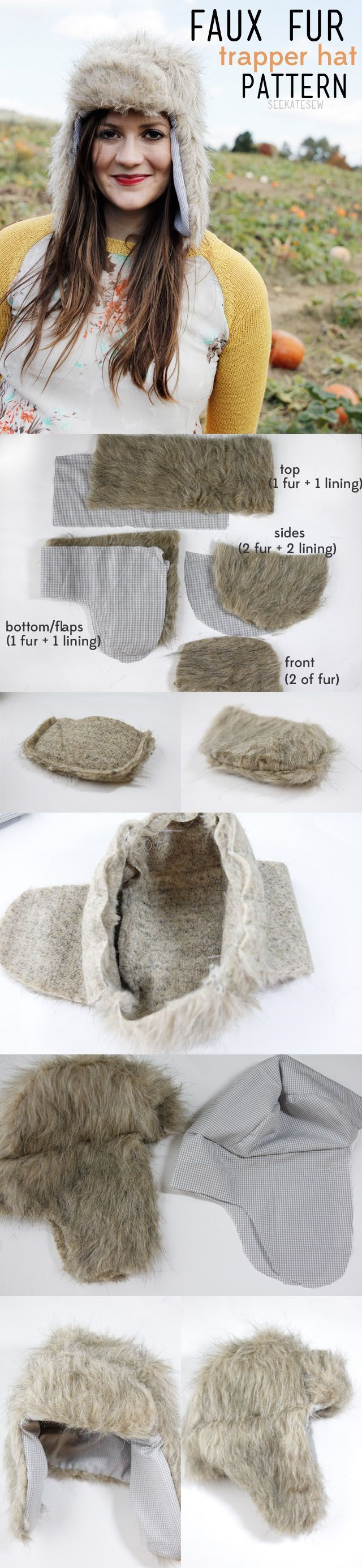 Пошив шапок из меха своими руками 55
