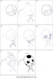 Как рисовать тики поэтапно