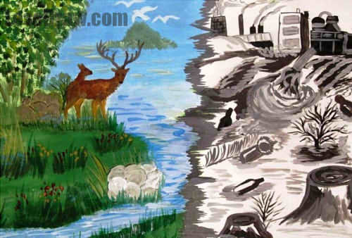 Конкурс рисунок на тему экология