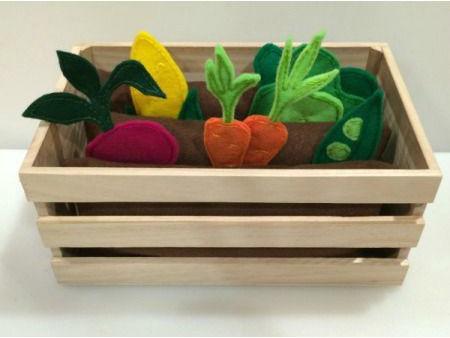 овощи из фетра огород овощей