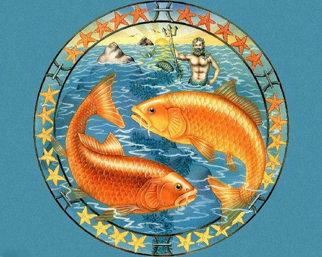за знаком рыб знак водолея