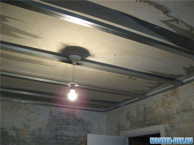 Как сделать своими руками натяжные потолки