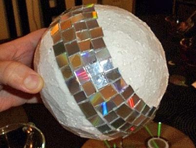 Своими руками светомузыка из дисков 70