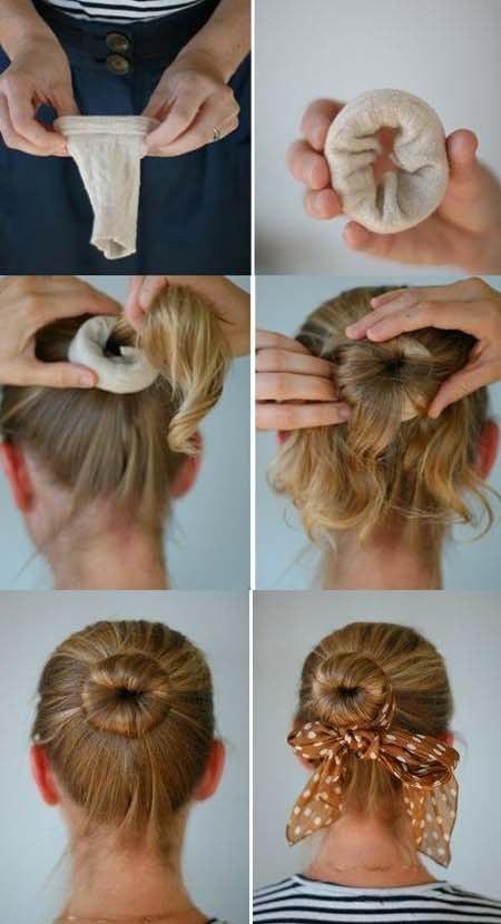 Как сделать своими руками валик для прически