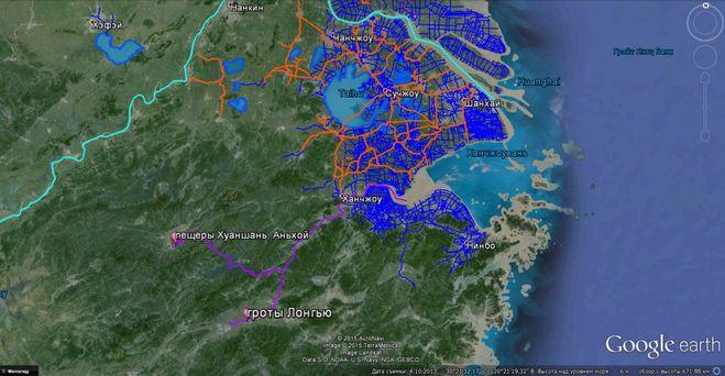 Каналы Юга Китая #Google
