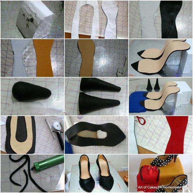 Как сделать мастику для туфли