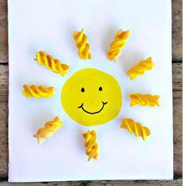 поделка солнце с детьми