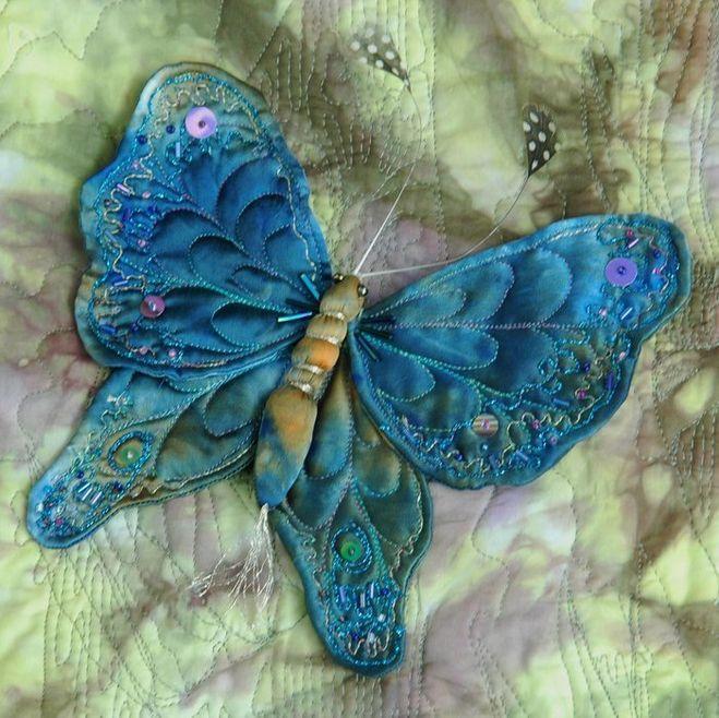 Как сделать декоративную бабочку из чего