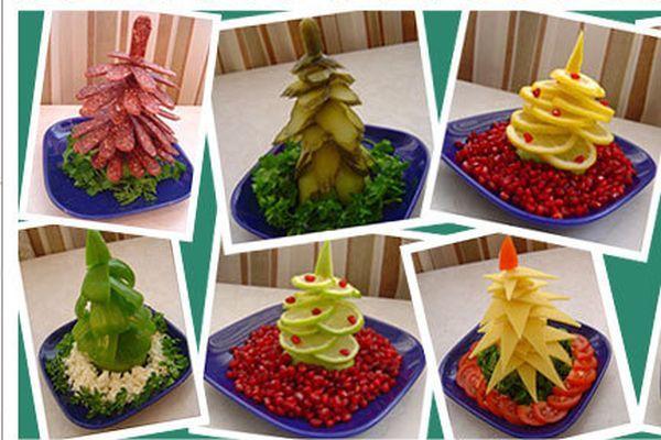 Украшения из овощей на новый год своими руками