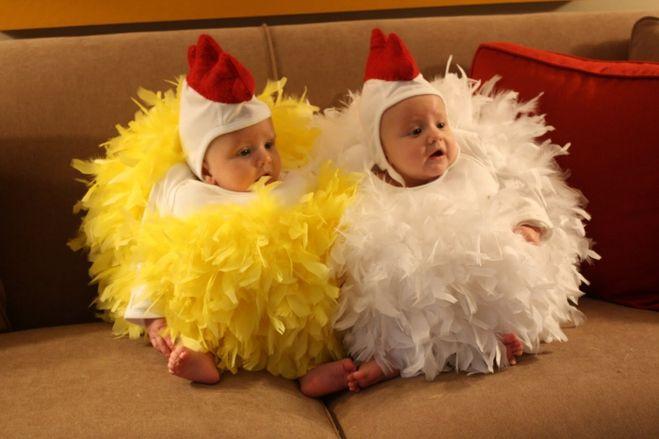Как сделать шапочку цыплёнка