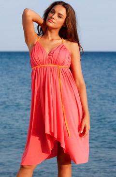 Пляжное платье своими руками