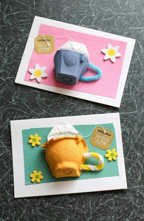 аппликация с цветами из картона яичной упаковки