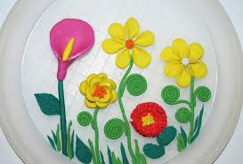 поделки из пластилина, поделки к 8 Марта, поделки к 8 Марта в детский сад, подарок маме на 8 марта, открытка из пластилина