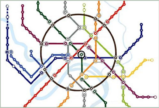 Выход в метро на таганку на схеме метро