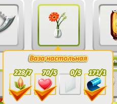 Ваза с жёлтым цветком аватария фото