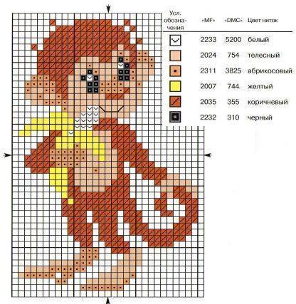 Цветные картинки для вышивки 363