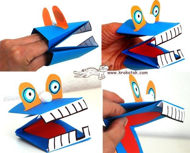 Как сделать игрушки для детей из бумаги