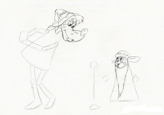 Как нарисовать волка ну погоди