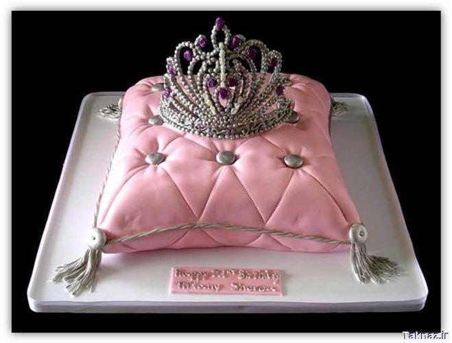 Торт для принцессы с короной