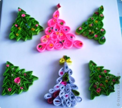 Как сделать елку из бумаги в технике рюш на Новый год? - dtk28
