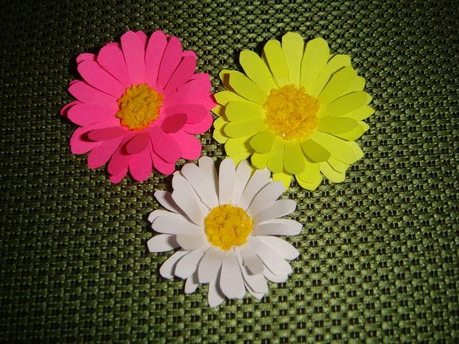Своими руками цветочки из бумаги