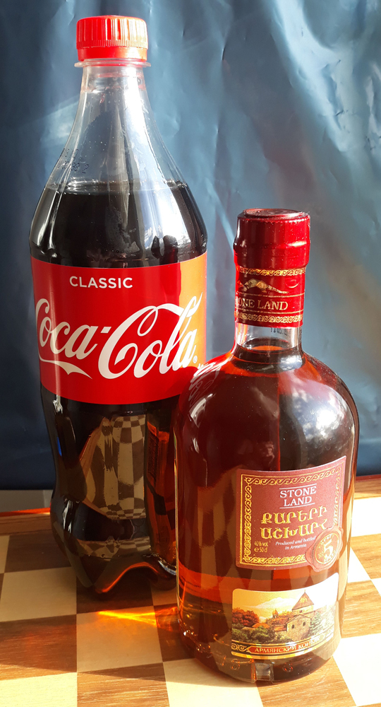 Коньяк без Кока-Колы - деньги на ветер
