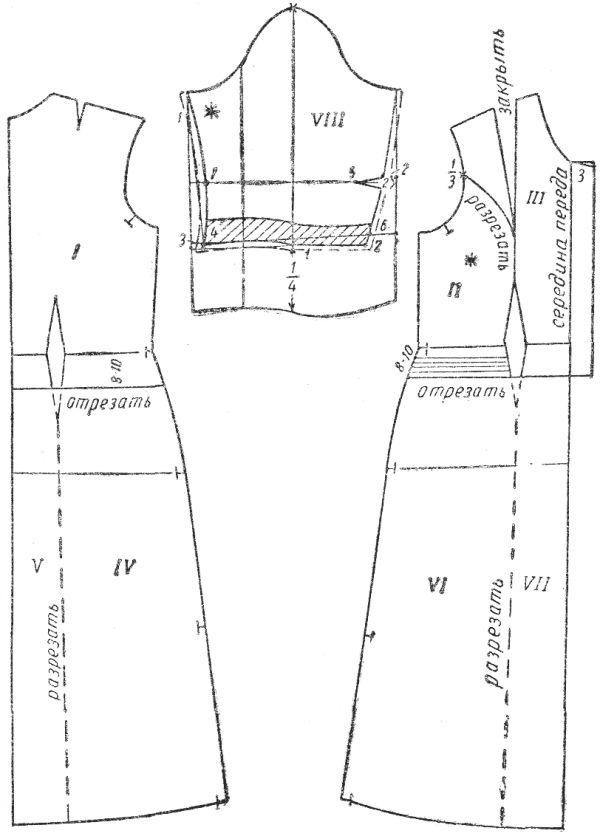 Как сшить ханбок юбка своими руками выкройка 35