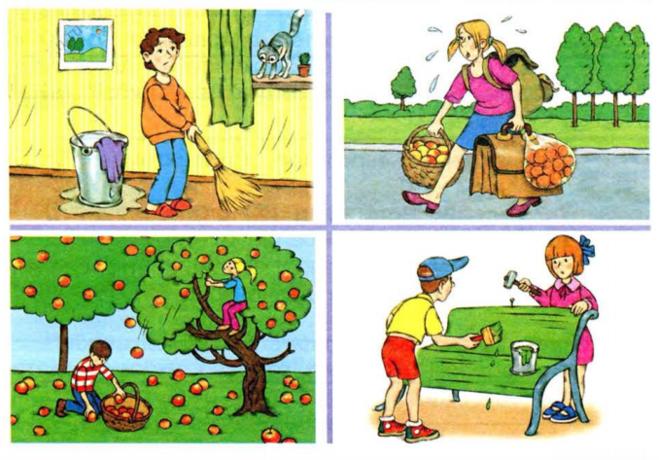 Составь рассказ по одному из рисунков 2 класс