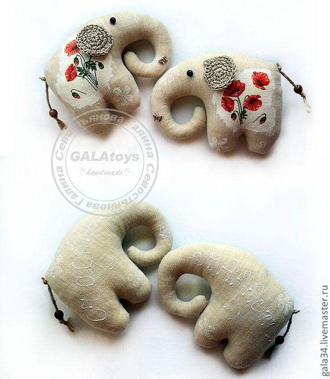 Как сшить игрушку слон примитив