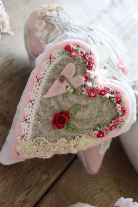 сердце из ткани