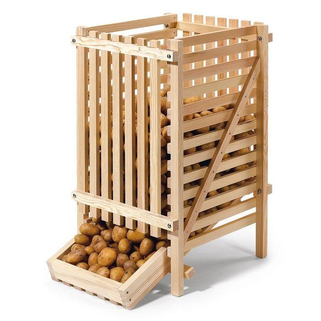 Своими руками ящик для хранения картофеля