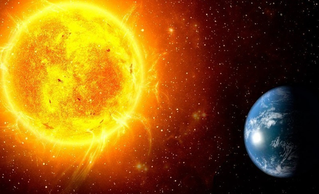 Наша планета в космосе