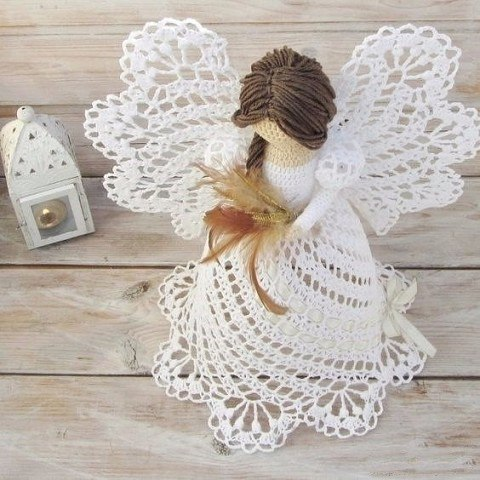 ангел крючком - схема и описание