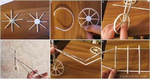 Велосипед из бисера своими руками 5