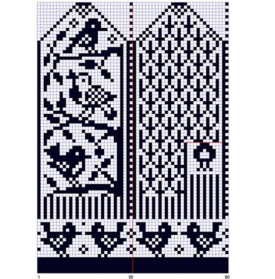Вот несколько схем для вязания