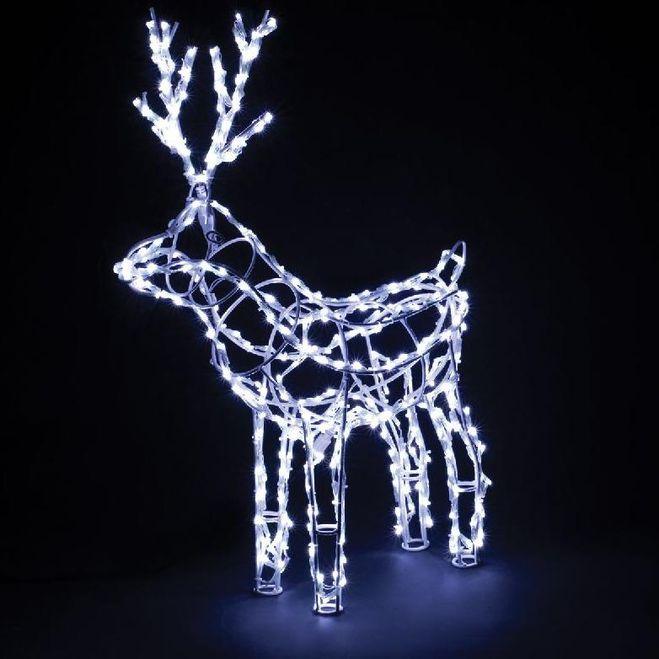 Светящийся олень своими руками