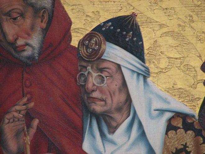 средневековые очки