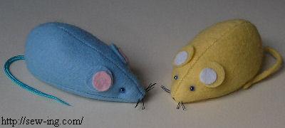 Как сделать игрушку мышку для кошки своими руками
