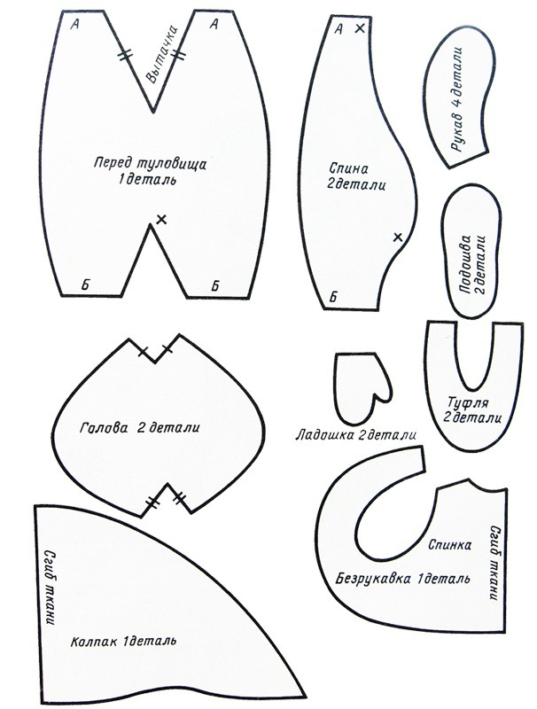 Как сделать гномика своими руками из ткани