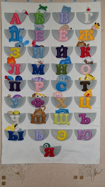 Как сделать ребенку азбуку