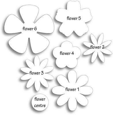 Цветы из фетра выкройки своими руками 54