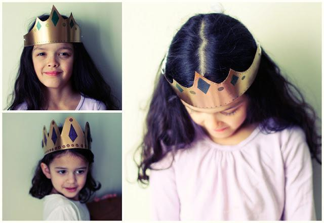 Как сделать корону для мальчиков из картона