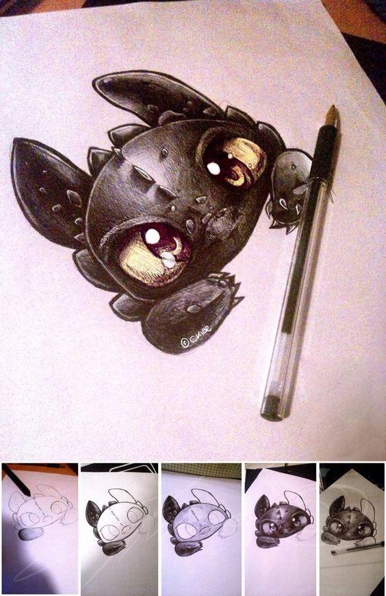 Дракон Беззубик