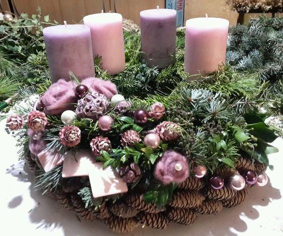 Композиции со свечами своими руками фото 812