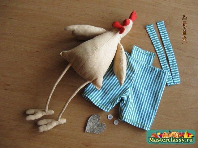 Сшить курицу и своими руками