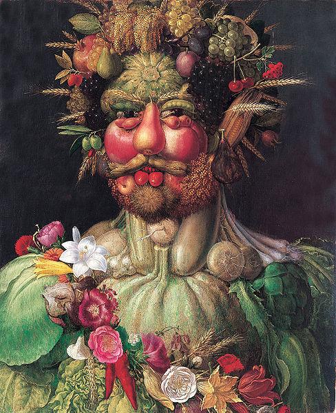 Художник рисовавший портреты из овощей