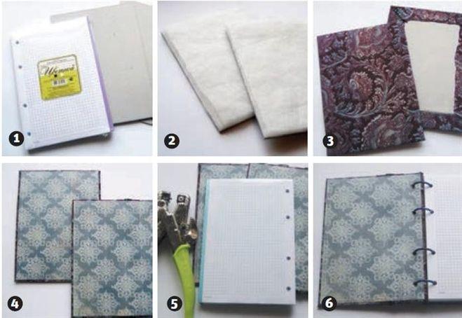 Как сделать блокнот своими руками в домашних условиях легко для девочек 77