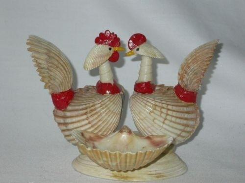 Птицы из ракушек